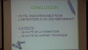 Conclusion d'Erika MAMERY du CH de Pontarlier suite à son projet décisionnel