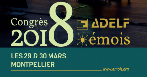 Journées ADELF EMOIS 2018 AXEGE