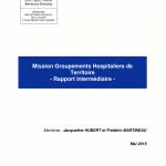 Rapport mission Groupements Hospitaliers de Territoire (GHT)